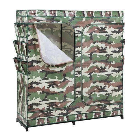 honey can do door storage closet honey can do 60in door storage closet camouflage