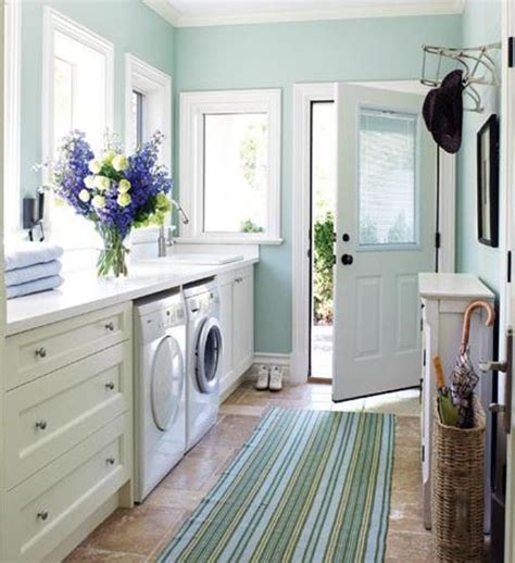 paint colors laundry room blue and white color laundy room home interiors
