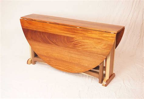 woodworking show 2014 resurrection drop leaf table