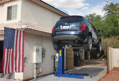 Best Car Garages portable car best car lift for home garage the better