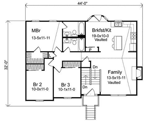 split level ranch floor plans oaklawn split level home plan 058d 0069 house plans and more