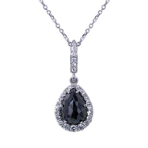 black necklace tear drop black necklace jewelry designs