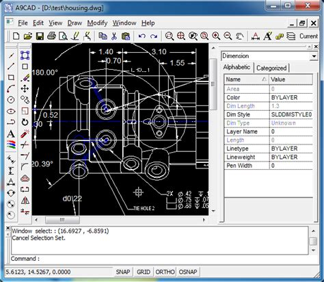 free cad 2d free and simple 2d cad software dwg dxf editor viewer