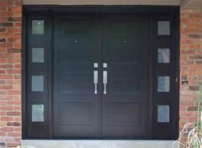 modern front entry doors in mahogany chad womack