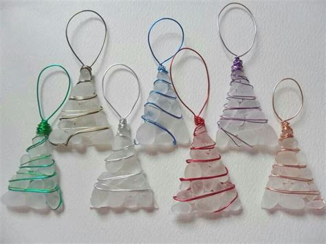 crafts with glass sea glass decorations sea glass crafts