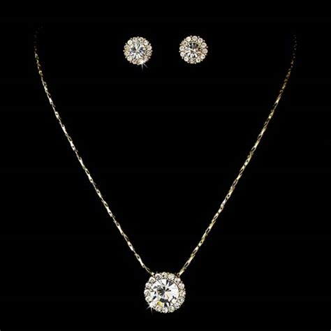 easy jewelry simple pendant jewelry set ne 71576 171 wedding fashion