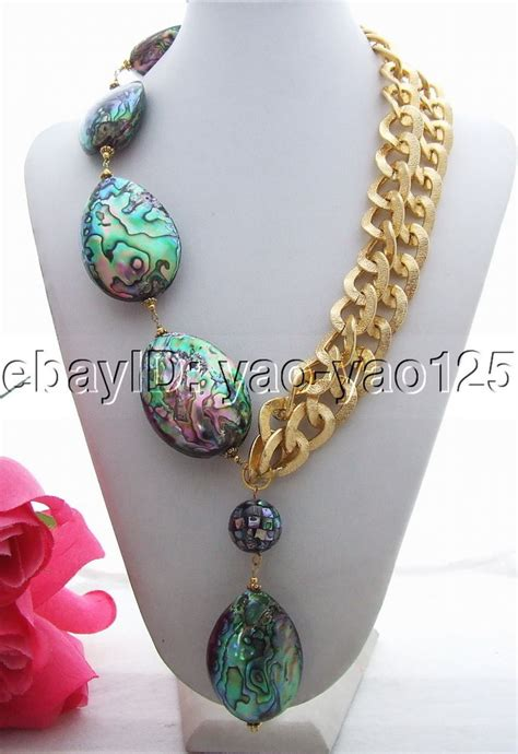 how to make abalone shell jewelry n130711 charming abalone shell necklace ebay