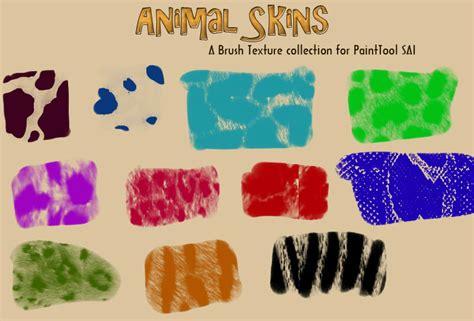 paint tool sai texture pack animal fur brushtex for sai by aheria on deviantart