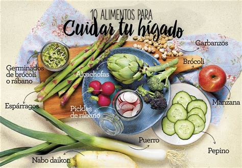 alimentos que da an el higado 10 alimentos para cuidar el h 237 gado