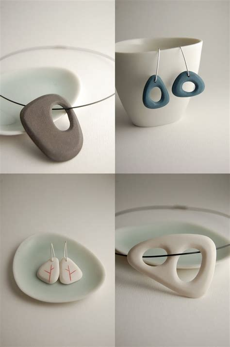 how to make ceramic jewelry 1000 ideas about porcelain jewelry on clay
