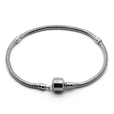 fit pandora bracelet 17 23cm 925 silver jewelry bracelets authentic snake