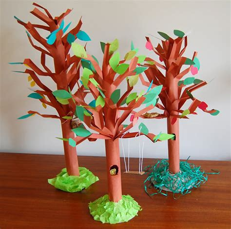 trees craft unique tree craft lesson plans