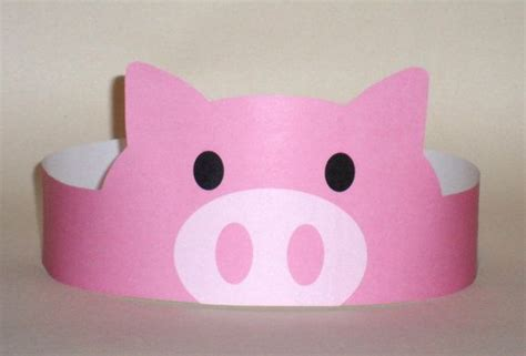 pig crafts for crafts actvities and worksheets for preschool toddler and