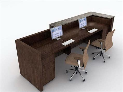 desk for 2 persons 2 person desk reception stroovi