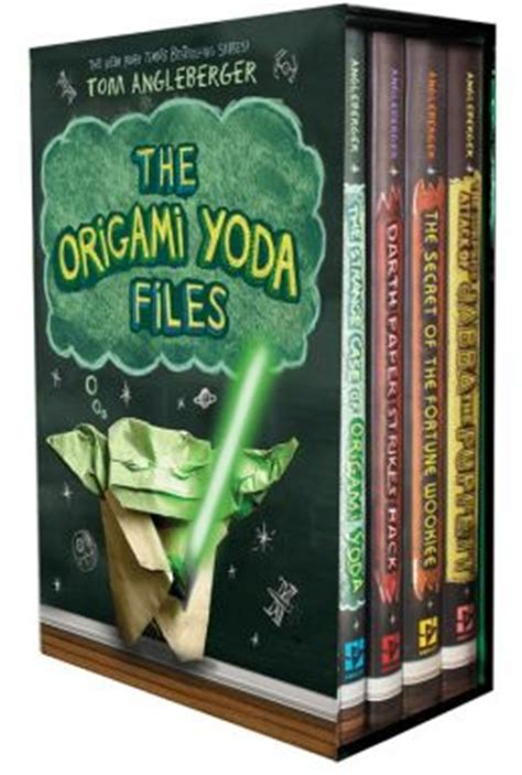 origami yoda files the origami yoda files boxed set by tom angleberger