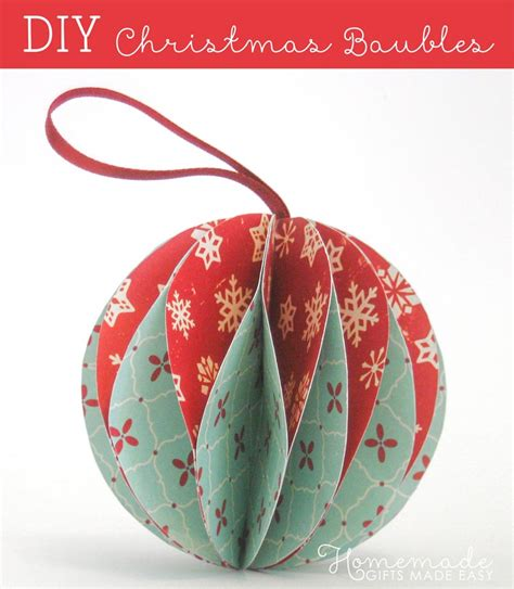 easy tree decorations to make easy to make ornaments