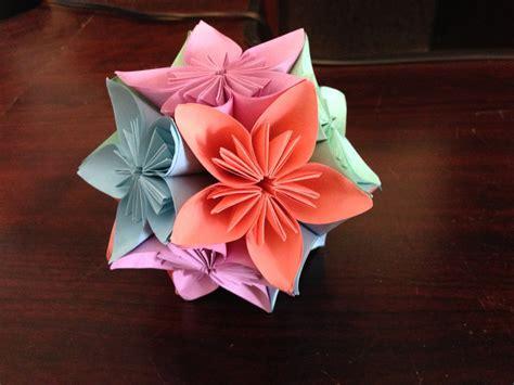 origami kusudama flower origami flower kusudama www imgkid the image
