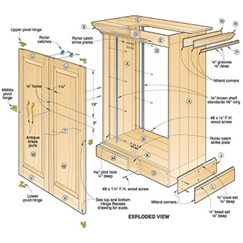 woodworking cabinet plans woodwork woodworking plans entertainment cabinet pdf plans