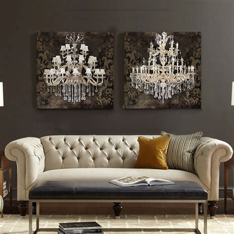chandelier painting modern still painting canvas chandelier