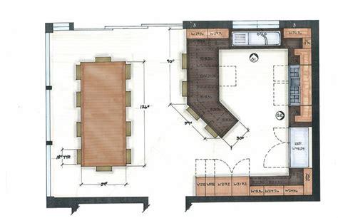 best kitchen floor plans 1000 ideas about kitchen floor plans on