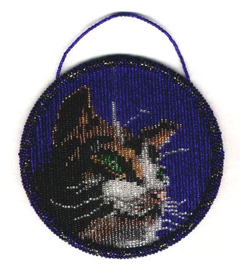 bead suncatcher patterns cat suncatcher ring pattern and kit