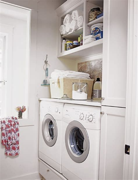 small laundry room storage 20 small laundry room ideas white and clean solutions