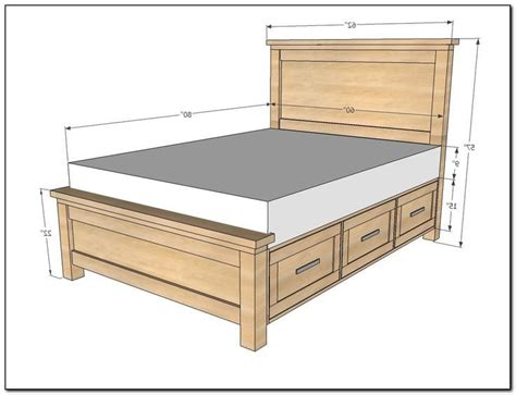 woodworking bed frame rustic bed frame woodworking plans home design ideas
