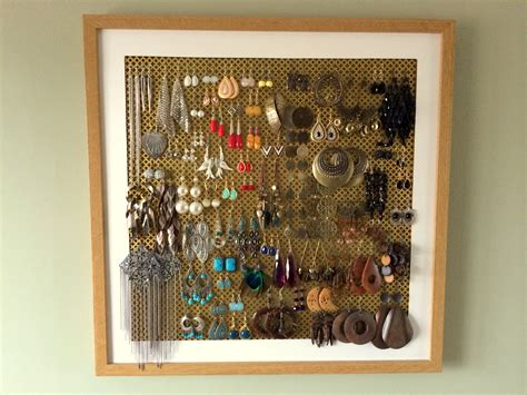 how to make a ring holder for a jewelry box diy earring holder tutorial ingenious nesting