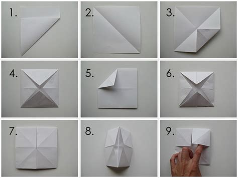 origami chatterbox my handmade home tutorial origami fortune teller