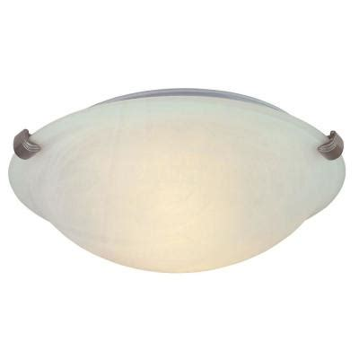 flush mount ceiling light covers hton bay 2 light pewter ceiling flushmount hb1313 12