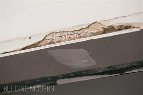 mudding corner bead mudding a door frame