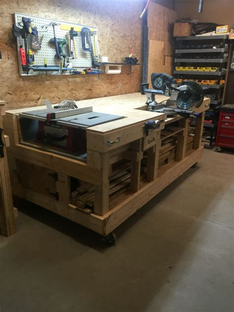 woodworking shop benches 25 best ideas about power tool storage on