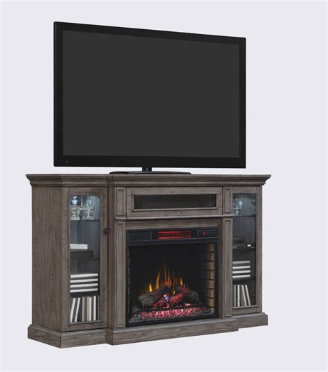 fireplace home depot home decorators collection willemstad 28 quot infrared media