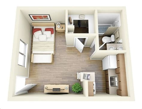 one bedroom designs 10 ideas for one bedroom apartment floor plans