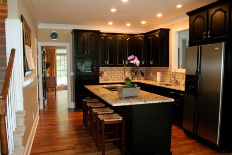 how to paint kitchen cabinets black simple tips for painting kitchen cabinets black my
