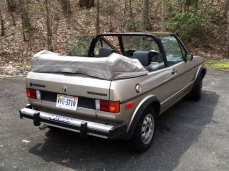 how cars work for dummies 1985 volkswagen cabriolet security system buy used 1985 cabriolet karmann classic in stafford virginia united states