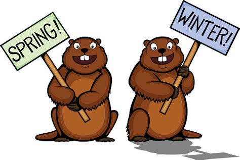 groundhog day graphics groundhog day clip vector images illustrations istock
