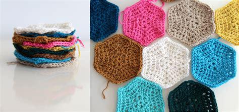 crochet tutorial crejjtion crochet hexagon tutorial