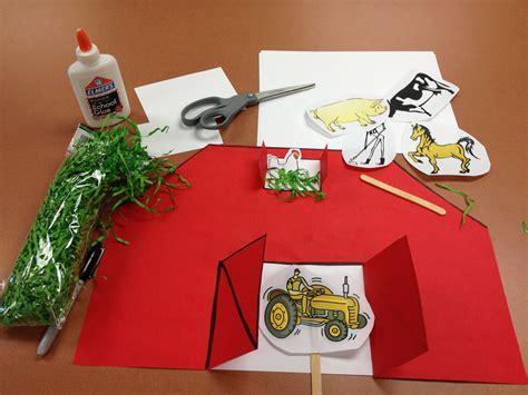farm craft for preschool storytime farm animals never shushed