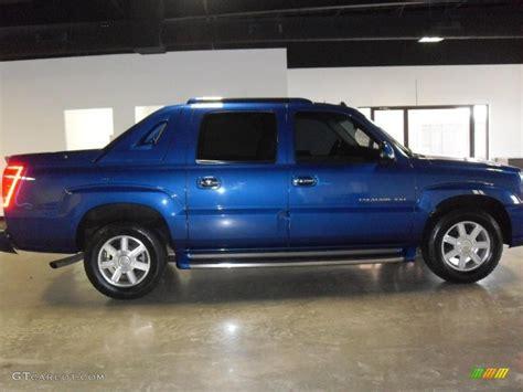 Cadillac Escalade Blue by 2003 Cadillac Escalade Ext Blue 200 Interior And