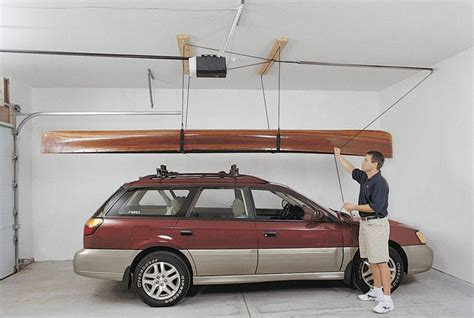 Garage Storage Kayak Diy Kayak Storage Garage 2017 2018 Best Cars Reviews