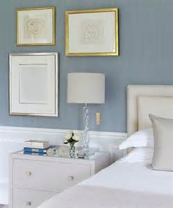 light blue grey bedroom blue and grey bedrooms with wainscoting transitional