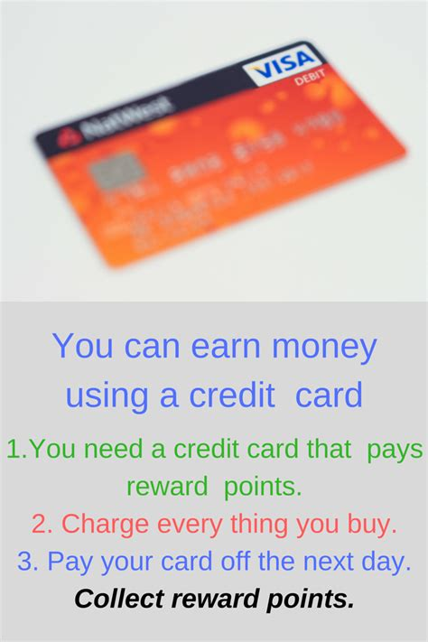 make money from credit cards earn money using your credit card the of frugal living