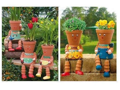 clay pot craft projects how to make a terra cotta clay pots lighthouse