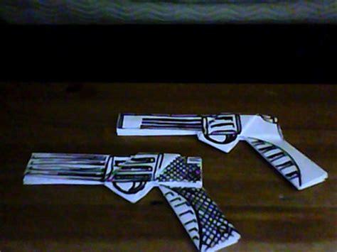 easy origami gun origami gun photos