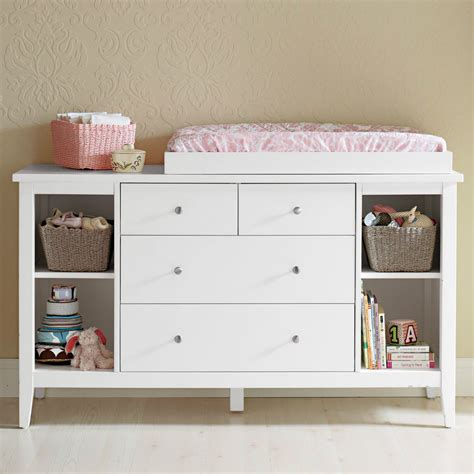 white baby change table with drawers brand new baby change table changer 4 chest of drawers