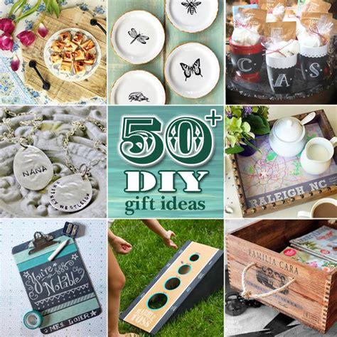 gifts ideas 50 diy gift ideas pretty handy