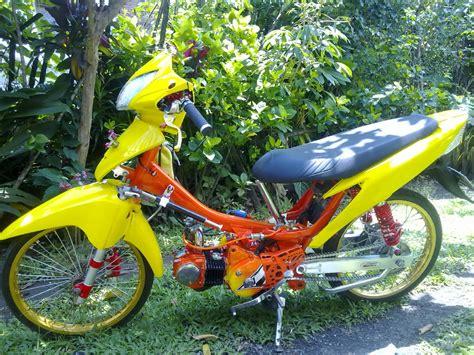 Gambar Motor Supra by 50 Gambar Modifikasi Supra X 125 Keren Antik Modif Drag