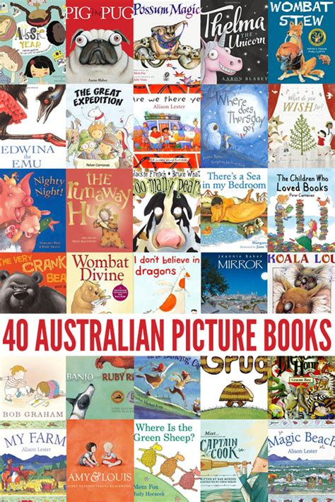 40 Of The Best Australian Picture Books By Our Favourite