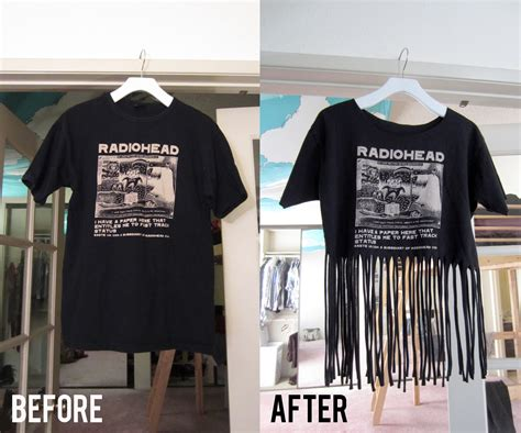how to make a fringed shirt with diy projects to try make your own fringe t shirt pretty